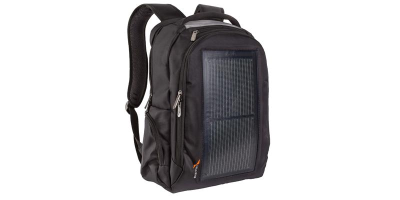 Enerplex Packr Commuter Solar Powered Backpack Portable