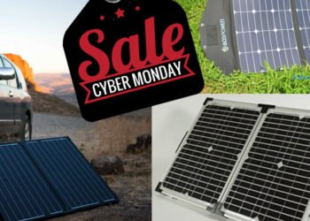 Portable Solar Power Generators For Camping And Emergency