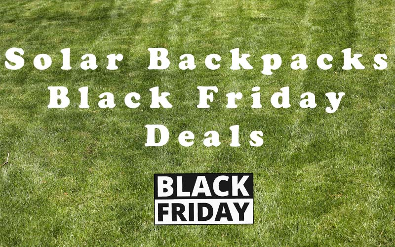 Solar Backpack Deals