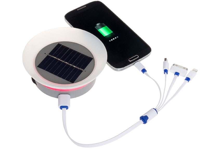 Portable Mobile Phone Solar Charger By Greenlighting
