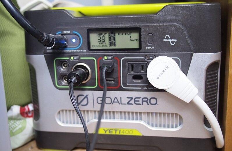Goal Zero Yeti 400 Solar Generator Review
