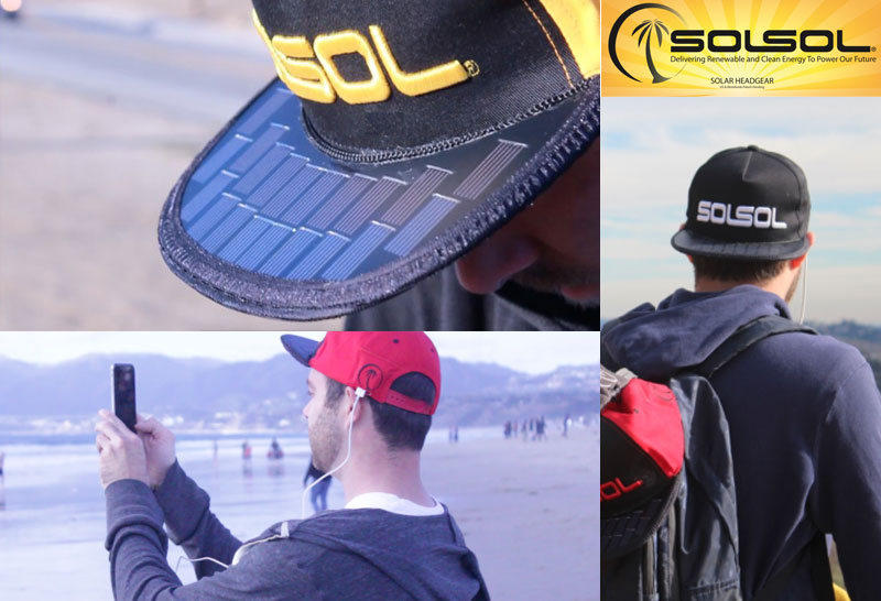 Solar Powered Hat Charger By Sol Sol Overview