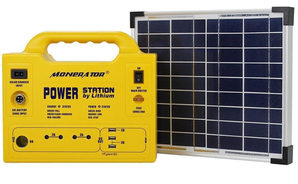 Monerator Gusto 10 Eco Kit Solar Generator