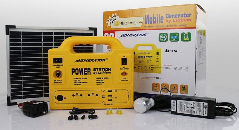 Monerator-Gusto-Solar-Generators