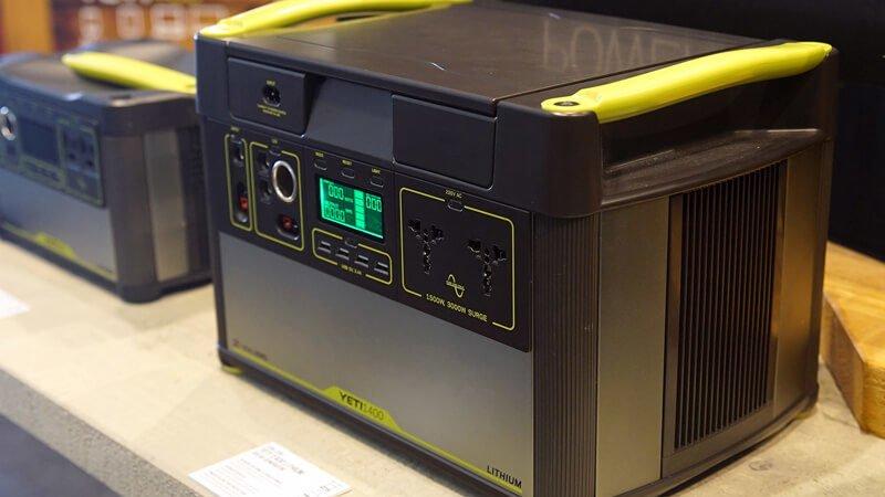 Goal Zero Yeti 1000 Lithium - Powerful 1500W Solar Power Station