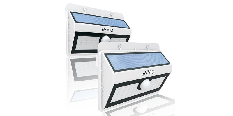 Avvio 45 LED Solar Outdoor Lamp