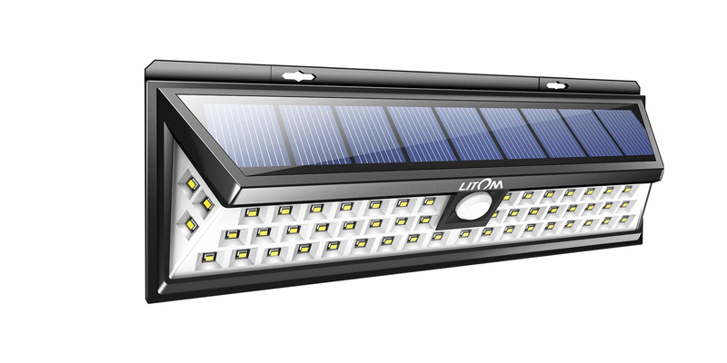 Litom Super Bright Solar Lights 54 LED Lamp