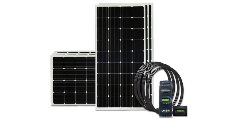 go power 960 watts solar charging kit