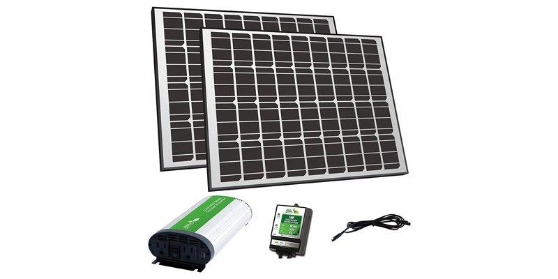 nature power 170 watt solar panel kit