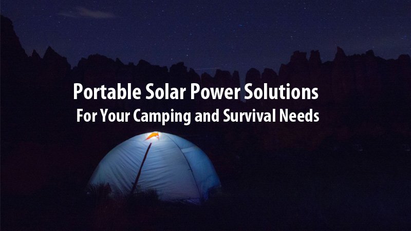 Portable Solar Power Solutions