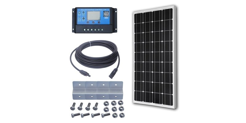 eco worthy 100w solar panel kit