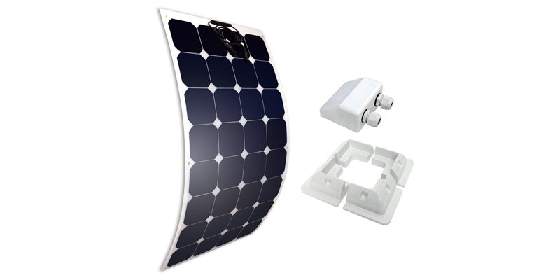 giosolar 100w flexible solar panel