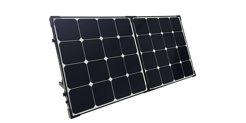 renogy 100w eclipse solar suitcase with charge controller