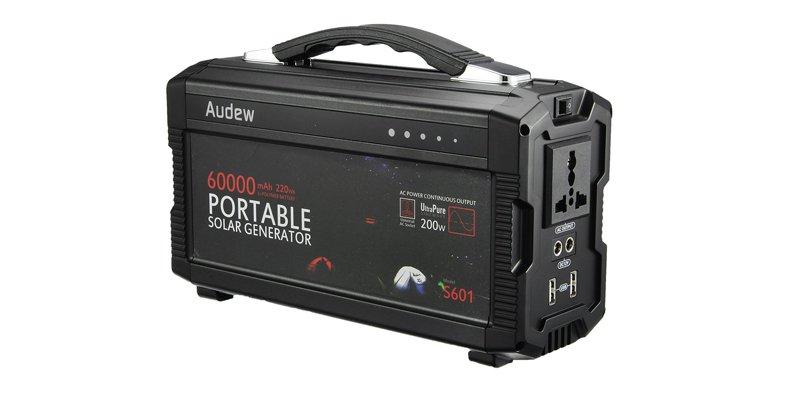 Audew 200Wh Solar Power Pack