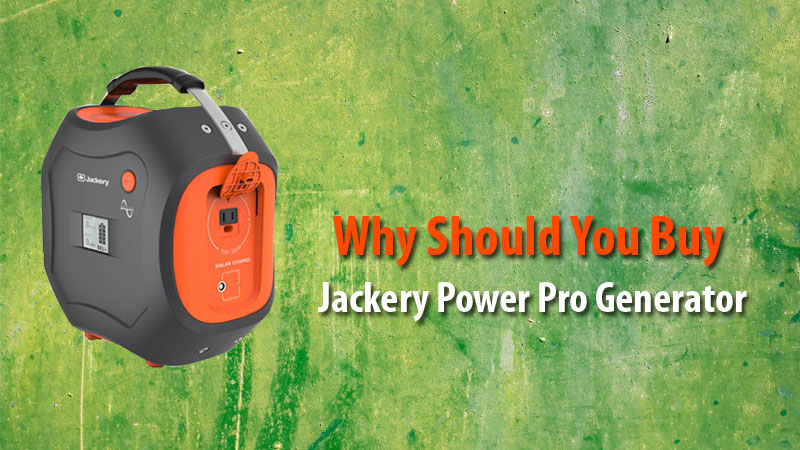 Jackery Power Pro Generator for Campers