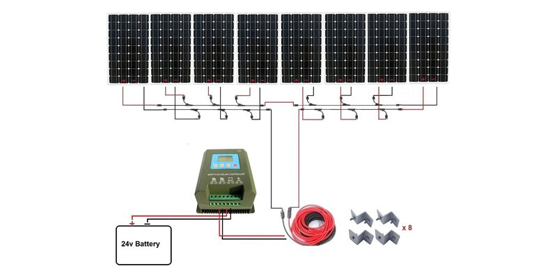 eco-worthy 1300-watt off-grid solar kit