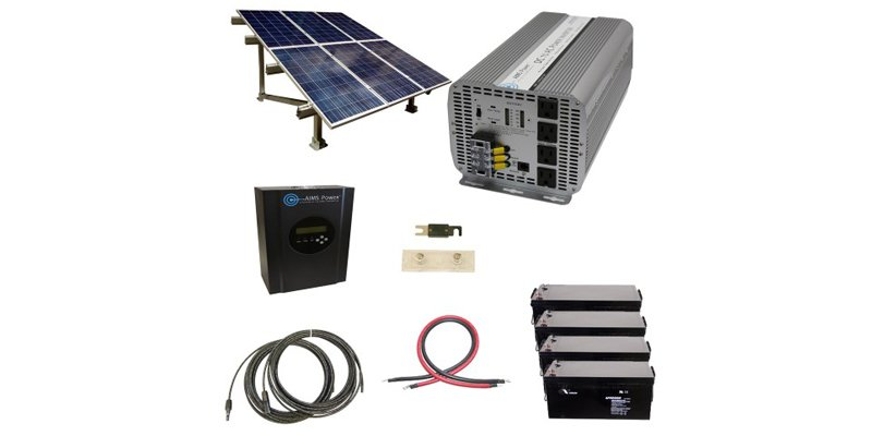 Complete Cottage 216KWH 5000W Solar Kit