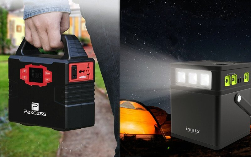 Portable Solar Power Pack Kit