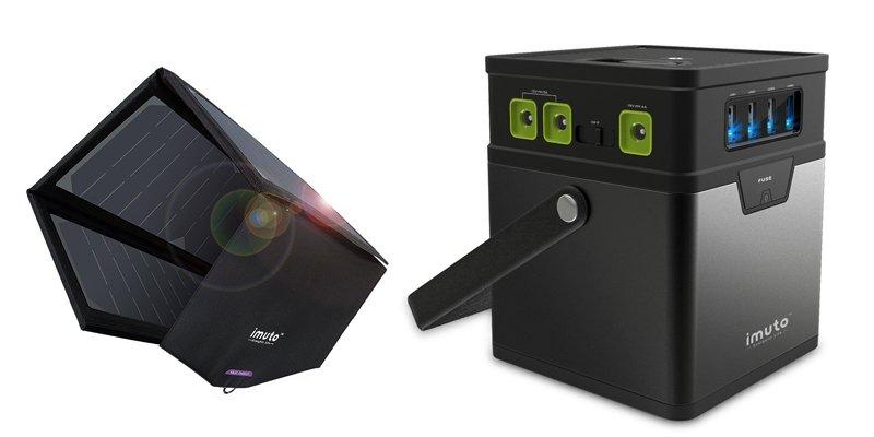 imuto 185wh portable solar generator