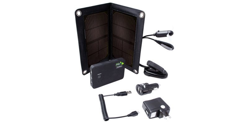 Nature Power 5000mAh Solar Power Kit