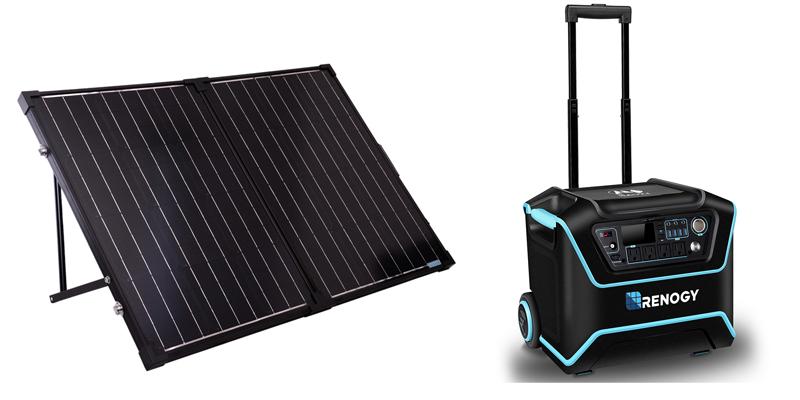 Renogy Lycan Powerbox with 100W Solar Panel