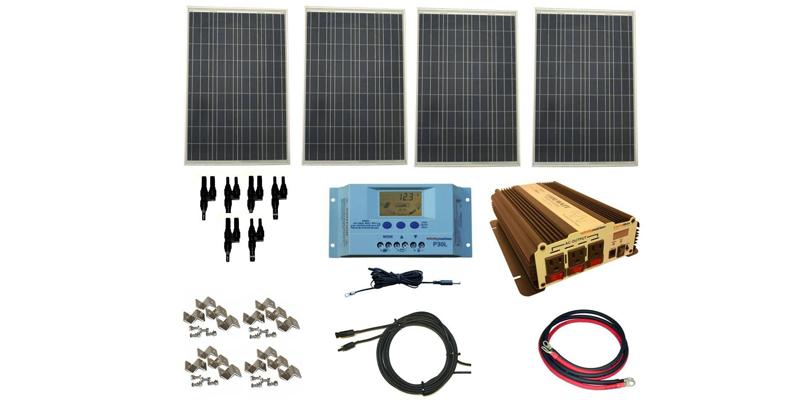 WindyNation 400-watt Solar Panel Kit