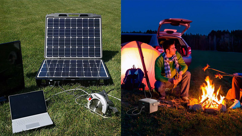 Image result for camping with solar