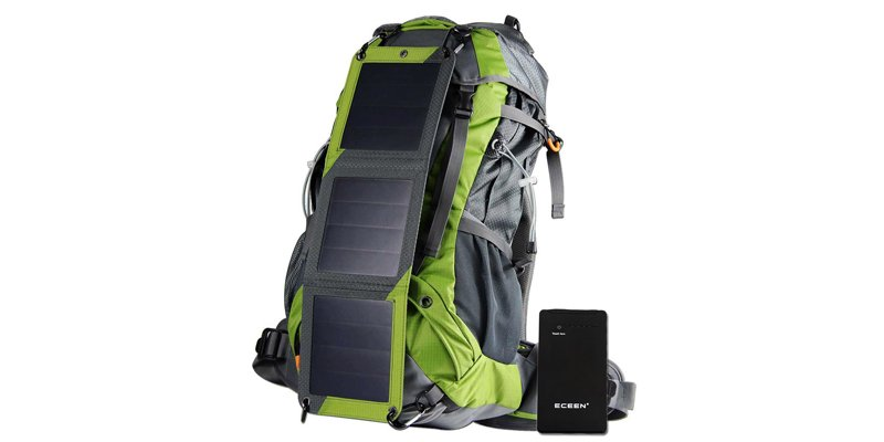 Eceen 10W Solar Backpack Solar Charger