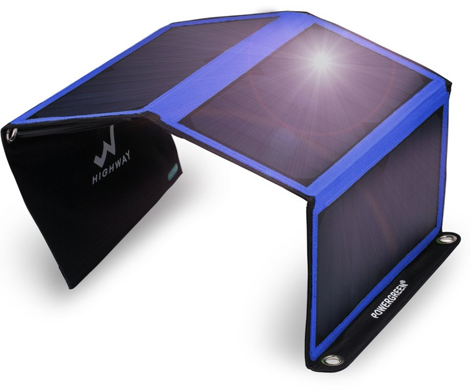 PowerGreen 21W Solar Charger
