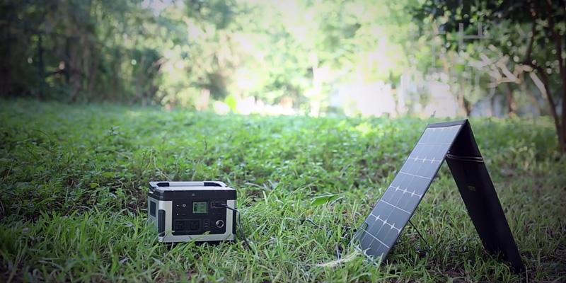 Suaoki G500 As a Solar Generator