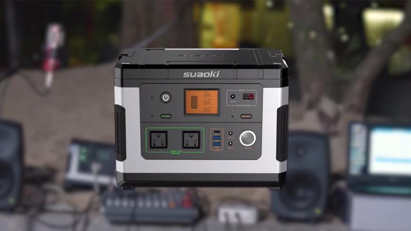 Suaoki G500 Solar Generator