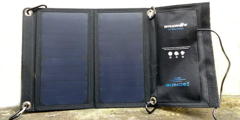 Blitzwolf 15W Solar Charger Review