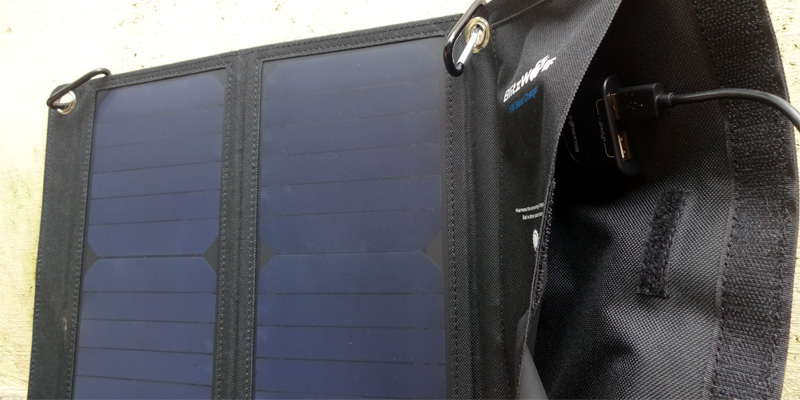 Blitzwolf 15W Solar Charger for Campers