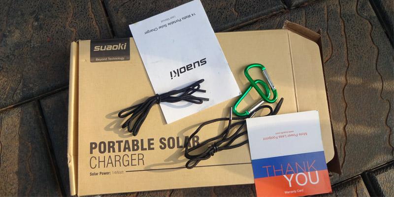 Suaoki Folding Solar Panel