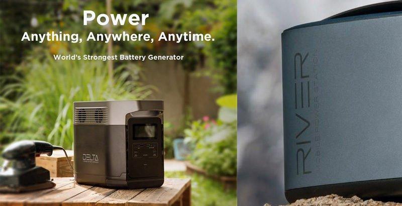 EcoFlow Delta Portable Battery Generator