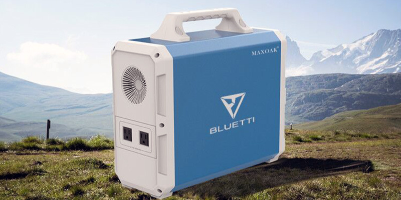 Maxoak Bluetti 1500Wh Solar Power Station
