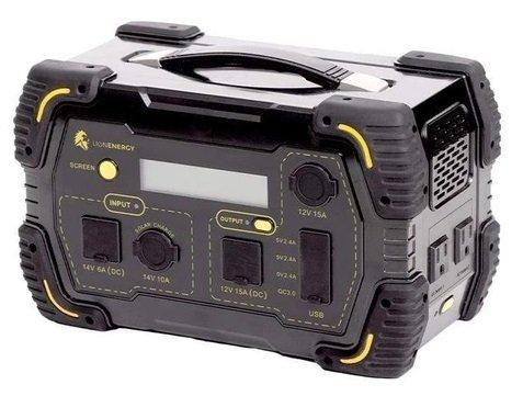 Lion Energy Safari LT 500 Portable Solar Generator