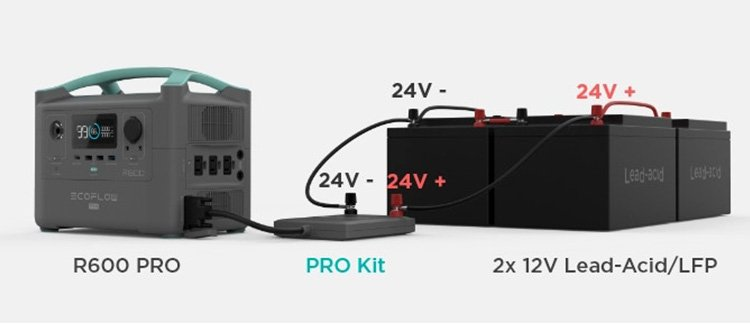 R600 Pro Expansion Battery Packs